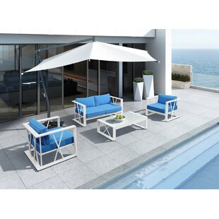 Coates Outdoor 4 Piece Sofa Seating Group