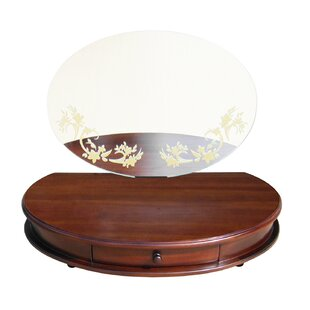 D-Art Collection Maya Table Top Vanity with Mirror