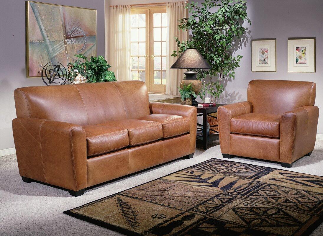 Jackson Leather Configurable Living Room Set