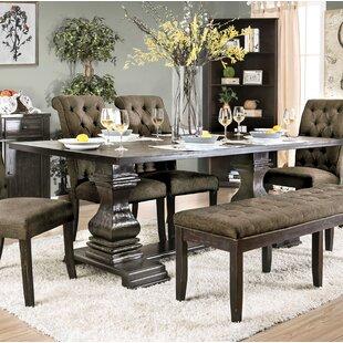 Affordable Kulik Solid Wood Dining Table ByOphelia & Co.