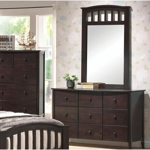 Affordable Giese 6 Drawer Dresser with Mirror by Harriet Bee Reviews (2019) & Buyer's Guide