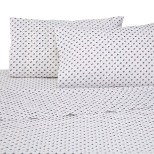 Southern Tide Americana Skipjack 4 Piece 200 Thread Count 100% Cotton Sheet Set