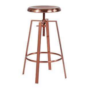 Price comparison Lavonne Adjustable Height Swivel Bar Stool by Williston Forge Reviews (2019) & Buyer's Guide