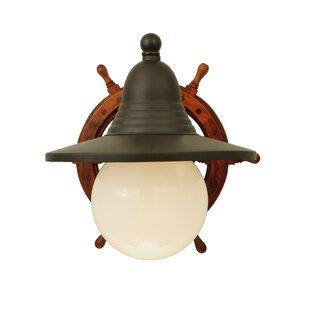 Nautical 1 Light Armed Sconce