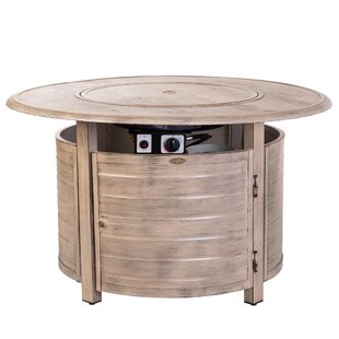 Thatcher Aluminum Propane Fire Pit Table