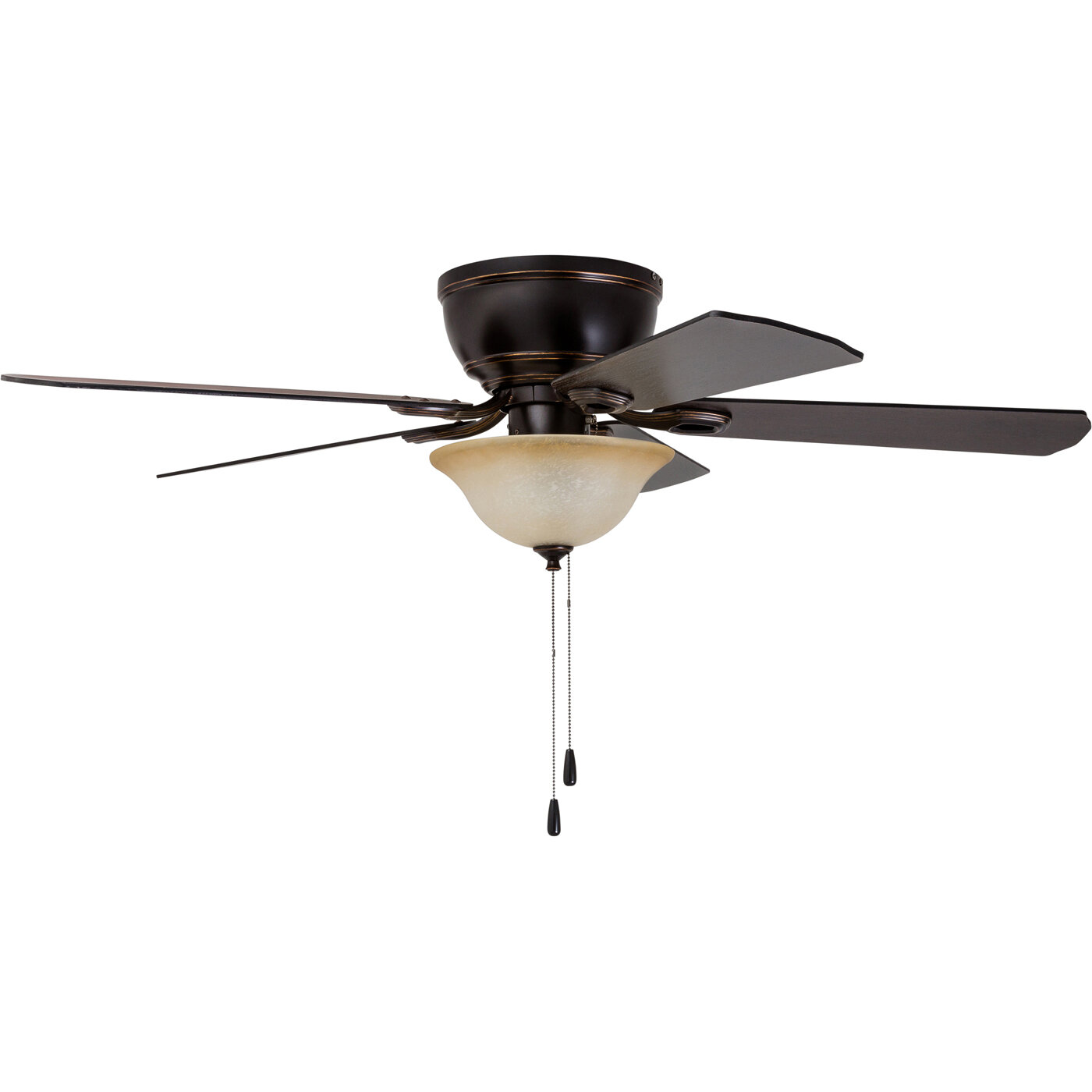 """Charlton Home 52"""" Crumbley 5 Blade LED Ceiling Fan & Reviews"""