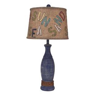 Hurtado Casual Pedestal 31 Table Lamp
