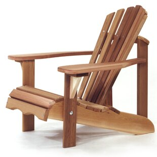 All Things Cedar Western Red Cedar Child Solid Wood Adirondack Chair