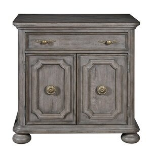 Rosdorf Park Yasmine 1 Drawer Nightstand