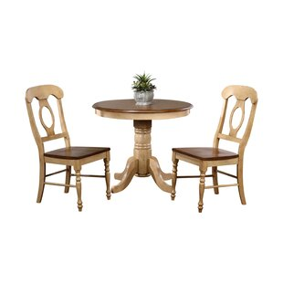 Huerfano Valley 3 Piece Dining Set Loon Peak