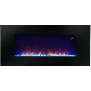 Warm House Amazon Widescreen Wall Mounted Electric Fireplace by Warm House