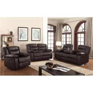 Hamlin 3 Piece Living Room Set