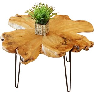 Batotana Unique Coffee Table by Union Rustic