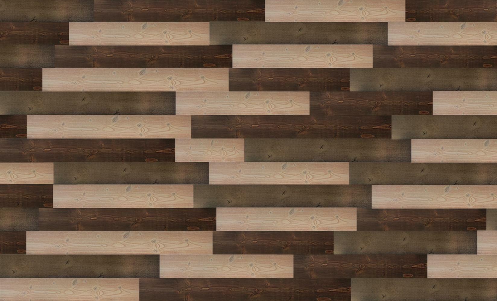 Union Rustic Reclaimed Rustic Wall Planks Self Adhesive Weathered Barn Wood Wall Panels Colour Combination C03c06c08 Wayfair Ca