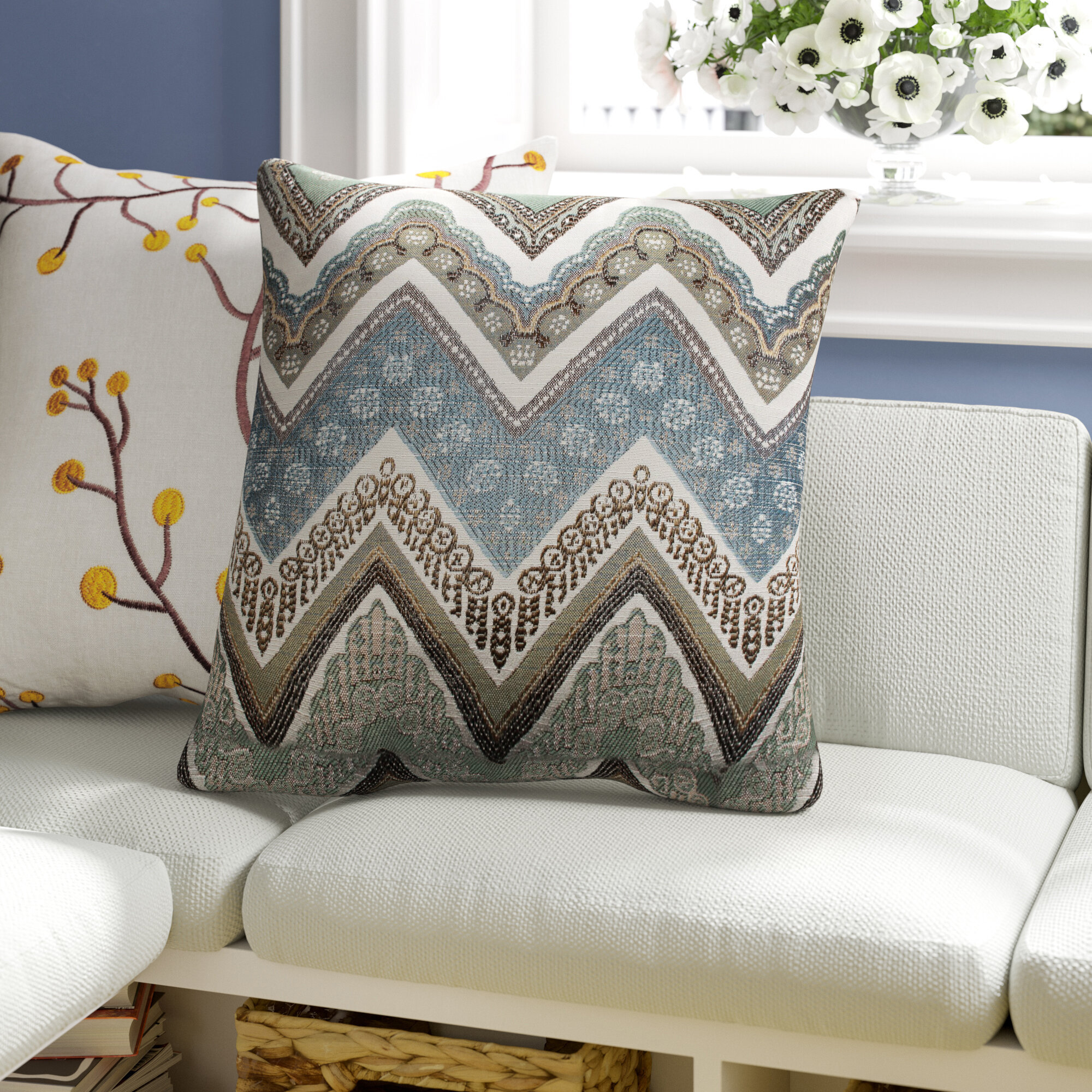 Bohemian Ivory Cream Throw Pillows You Ll Love In 2021 Wayfair