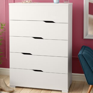 Cipriano Grandiose 5 Drawer Chest by Ivy Bronx