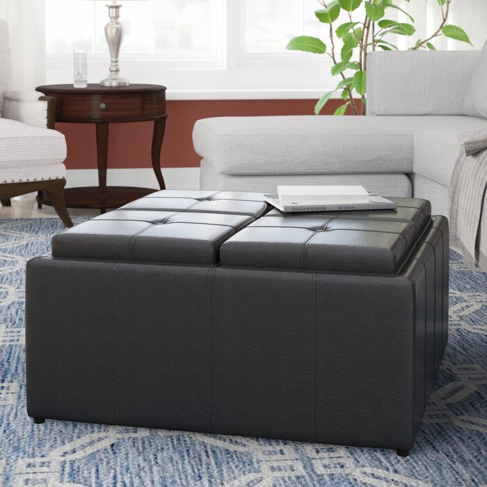 Fantastic Bryan Tufted Storage Ottoman Gmtry Best Dining Table And Chair Ideas Images Gmtryco