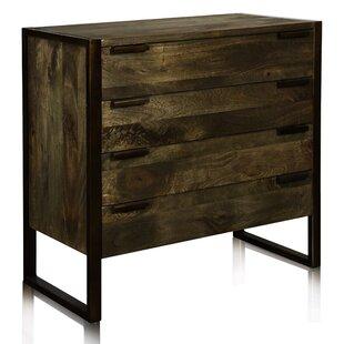Kaela 4 Drawer Dresser by 17 Stories