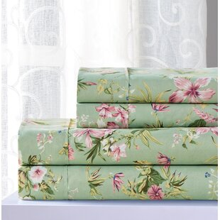 Kailey Floral Sheet Set