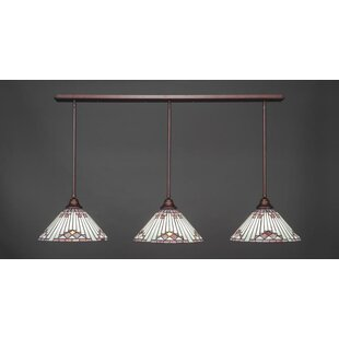 Red Barrel Studio Augu 3-Light Kitchen Island Pendant