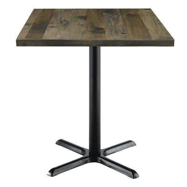 KFI Seating Urban Loft Square Cafe Table U0026 Reviews | Wayfair
