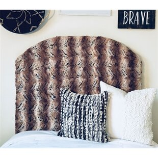 Hottinger Arched Twin/Twin XL Upholstered Panel Headboard