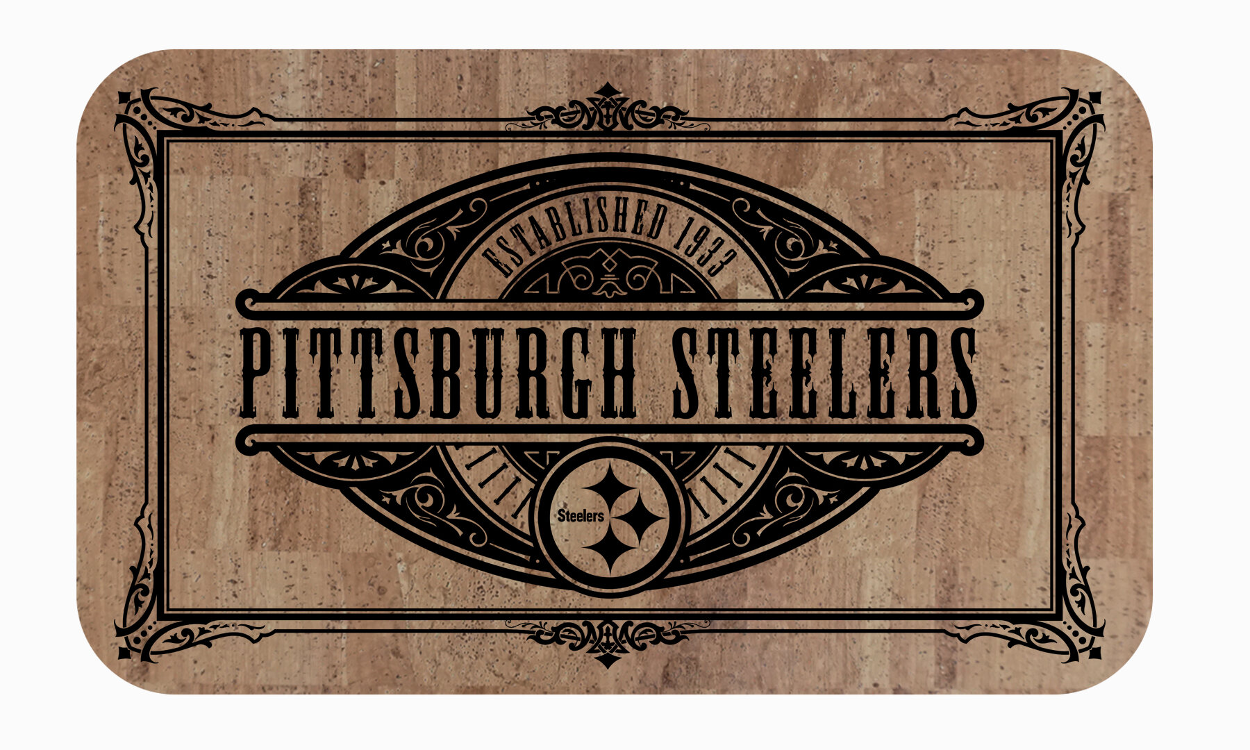 Fanmats Pittsburgh Nfl Steelers Cork Comfort Anti Fatigue Mat Wayfair