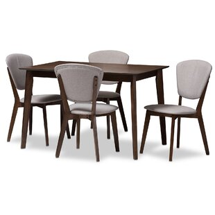 Chaparro 5-Piece Dining Set by George Oliver