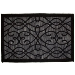 Best Price Normandy Black Area Rug By Kashi Home