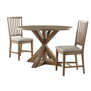 Skyview 3 Piece Dining Set Ophelia & Co.