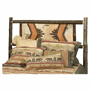 Fireside Lodge Hickory Adirondack Panel Headboard