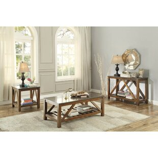 Gracie Oaks Ischua 3 Piece Coffee Table Set