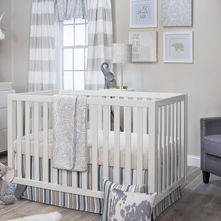 Low priced Aleman 3 Piece Crib Bedding Set By Harriet Bee