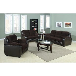 Mitul 3 Piece Living Room Set by Red Barrel Studio