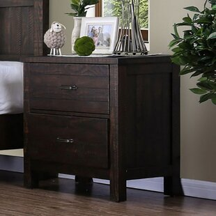 Ridings 2 Drawer Nightstand by Gracie Oaks