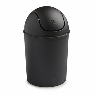 Umbra Mini 1.50 Gallon Swing Top Waste Basket