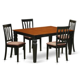 Arbouet 5 Piece Dining Set by DarHome Co Cheapt