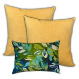 Rockwood Tropical Lagoon Outdoor Rectangular Pillow Cover