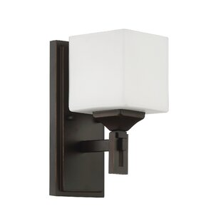 Read Reviews Nippal 1-Light Armed Sconce By Latitude Run