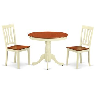Starr 3 Piece Dining Set
