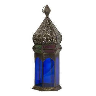Best Vintage Moroccan Metal Lantern By World Menagerie