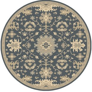 Willard Navy & Olive Area Rug by Charlton Home