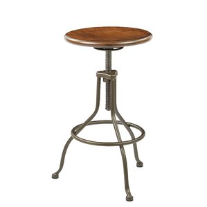Oberlin Adjustable Height Swivel Bar Stool by Trent Austin Design