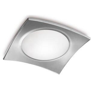 Jesco Lighting Basic 1-Light Flush Mount
