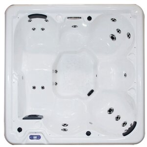 6-Person 21-Jet Spa with LED Lights