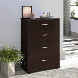 Ryker 4 Drawer Chest by Andover Mills