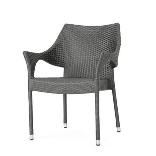 Karine Stacking Patio Dining Chair