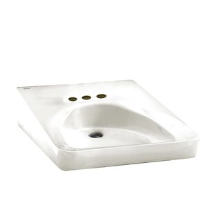 Top Reviews Ceramic 20 Wall Mount Bathroom Sink with Overflow By American Standard