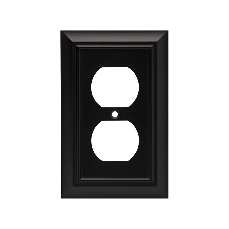 Franklin Brass Architectural 1 Gang Duplex Outlet Wall Plate Reviews Wayfair