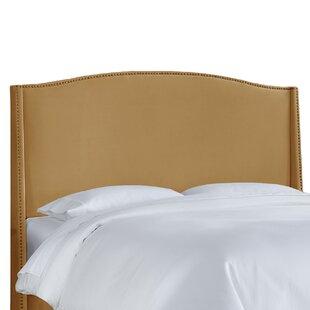 Willa Arlo Interiors Doleman Contemporary Upholstered Wingback Headboard